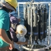 OEH RV Bombora oceanographic equipment includes this SeaBird CTD and rosette. It is used to measure water quality and collect seabed samples for analysis