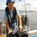 Dr Tim Ingleton, research scientist with the Department of Planning, Industry and Environment uses a multi-beam sonar to map areas of the NSW coast