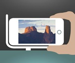 Warrumbungle Snap app button