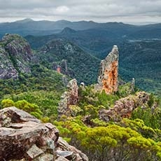 Breadknife Lookout Warrumbungle National Park