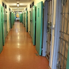 Maitland Correctional Centre showing interior of Wing 5