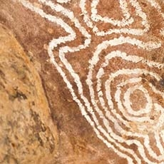 Mulgowan Aboriginal art site waking track Gundabooka National Park