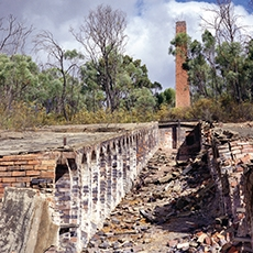 Ottery historic arsenic mine near Grafton