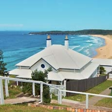 Sugarloaf Point Lighthouse Keepers Cottages Myall Lakes National Park