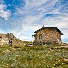 Summit walk and trail in Kosciuszko National Park