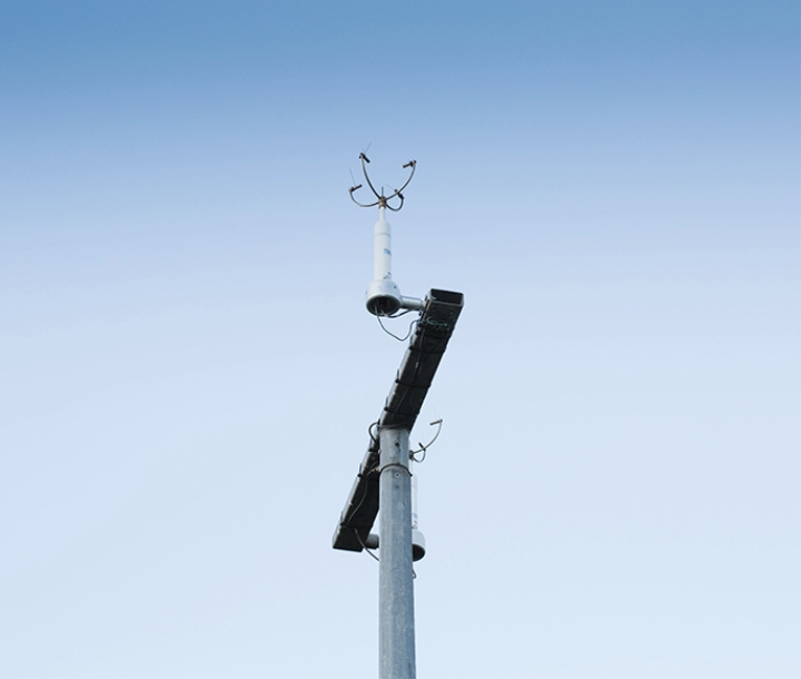 Wind sensor at Chullora air monitoring site