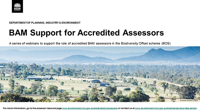 BAM Support for Accredited Assessors