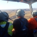 Saving our Species Yellow-footed rock-wallaby aerial survey team