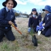 Braidwood school children planting trees for Threatened Species Day