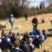 Tree planting activities for children at Braidwood