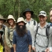 Costa Georgiadis and the Carrington Falls pomaderris (Pomaderris walshii) project team