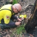 Inspection of recovery of weeping paperbark (Melaleuca irbyana), Bungawalbin National Park