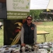 Woman manning Saving our Species information stand, Royal National Park, NPWS 50th Anniversary