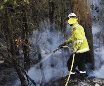 NSW National Parks and Wildlife Service (NPWS), assisted by Rural Fire Service (RFS) and Fire & Rescue NSW (FRNSW), completing a hazard reduction burn in Berowra Valley National Park near Hornsby.