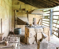 Blacksmith shop at Dundullimal Homestead in Dubbo