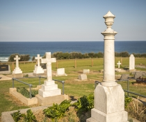 Graves in Tilba Cemetery