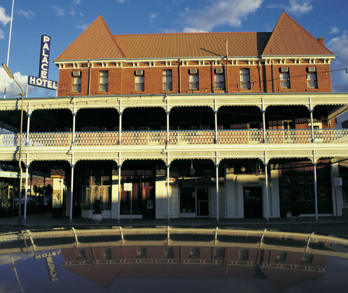 The Palace Hotel , Broken Hill is an iconic landmark in Far West NSW