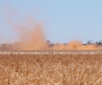 Dust storm Nyngan, Western Rivers NSW
