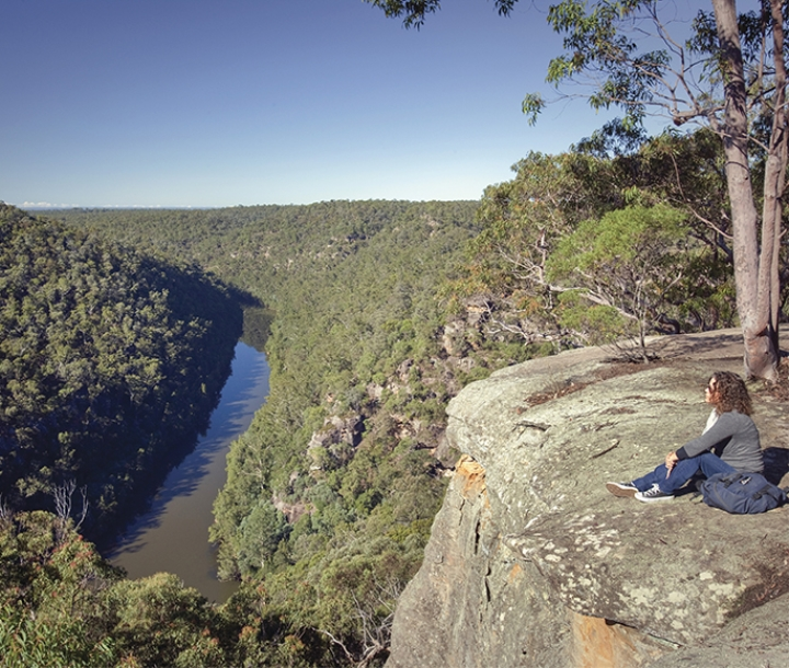 Fairlight Gorge, Glenbrook - Nepean lookout, Blue Mountains National Park