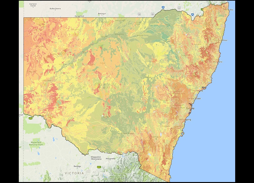 About soil maps | NSW Environment & Heritage