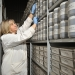 Archive storage facility used to catalogue and store approximately 90 thousands soil samples at the Soil Health and Archive laboratory located at Yanco NSW