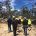 Soil Knowledge Network: forestry inspection near Bega