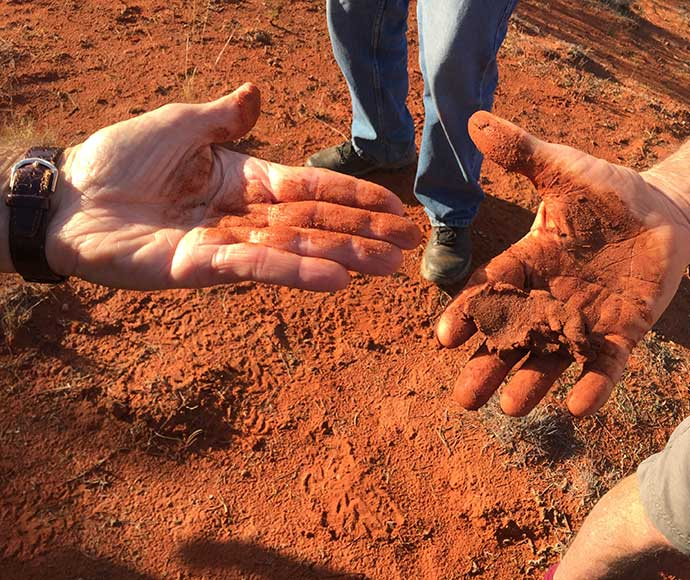 Soil Knowledge Network: examining soil textures