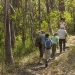 People walking along Powder Magazine Trail, Arakoon National Park