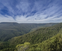 Barrington Tops National Park, mountain landscape view