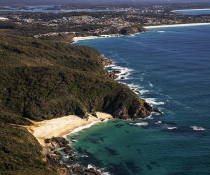 McBrides Beach, Booti Booti National Park