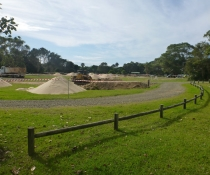 The Ruins campground, Booti Booti National Park, undergoing upgrade works