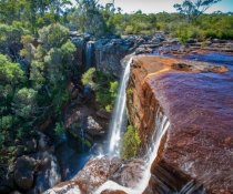 Maddens Falls in Dharawal National Park, an easy day trip from Sydney