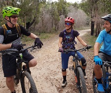 Garigal National Park mountain bike riders
