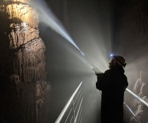 Cleaning in Jenolan Caves, Jenolan Karst Conservation Reserve