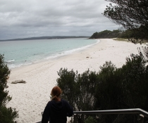White Sands walk starts at Greenfield Beach picnic area, Jervis Bay National Park