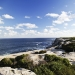 Spectacular coastal view of prime whale watching location at Cape Solander Kurnell, Kamay Botany Bay National Park