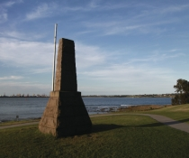 Captain Cooks Landing Place Inscription Point on the Kurnell Peninsula headland Kamay Botany Bay National Park