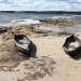 The Nuwi-Canoe sculptures, Kurnell Area, Kamay Botany Bay National Park