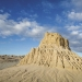 The Walls of China are dramatic formations of sand and silt deposited over tens of thousands of years and sculpted by wind and erosion in Mungo National Park.