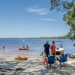 People enjoying the water, Myall Lakes National Park