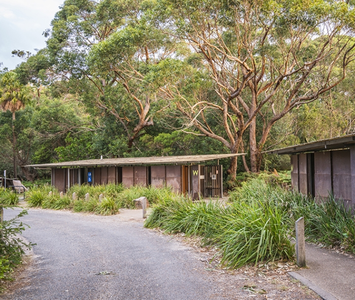 Camp facilities, Bonnie Vale Campground, Royal National Park