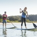 Paddle boarding, Bonnie Vale, Royal National Park