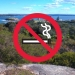 No smoking in national parks
