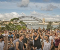 Goat Island Sounds festival is a unique music event in the middle of Sydney Harbour