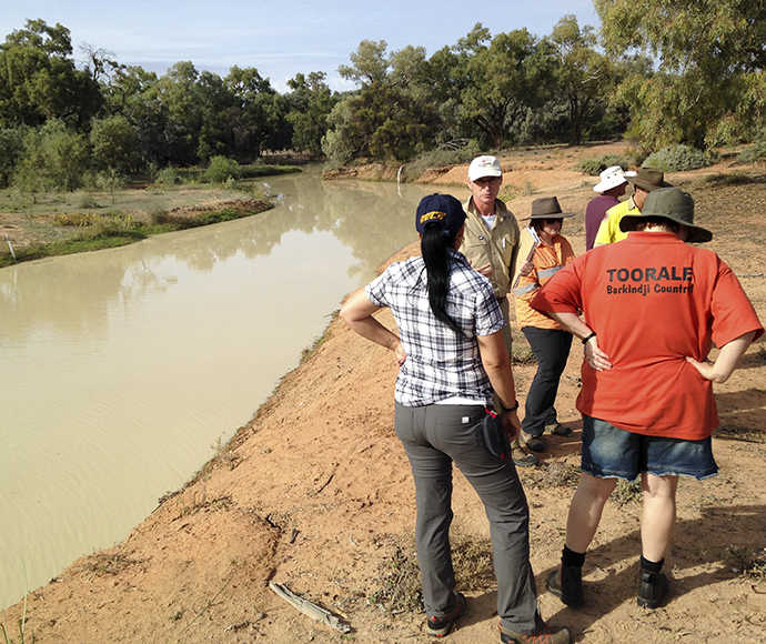 Talking with the Toorale Joint Management Committee about the Project