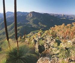 Warrumbungle National Park. Warrumbungle is a Gamilaroi word meaning crooked mountains