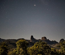 Clear night sky with stars, Warrumbungle National Park