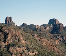 Warrumbungle National Park Fans Horizon Track