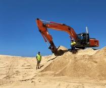 Shifting sands at the Worimi Conservation Lands
