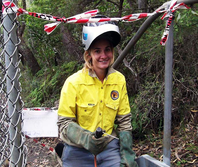 NPWS Field Supervisor Emily Smith